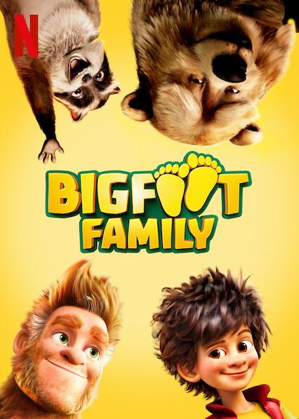 Bigfoot Family on Netflix USA