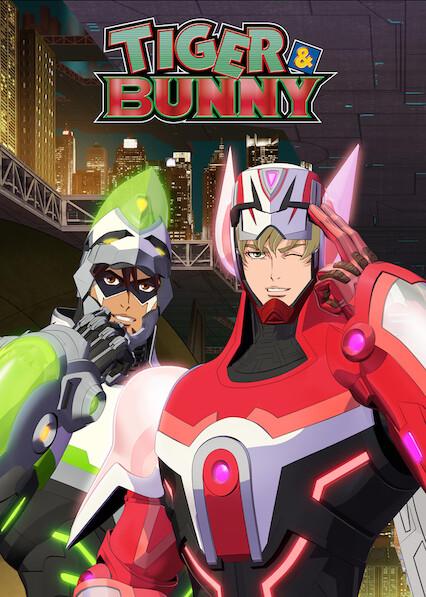 TIGER & BUNNY on Netflix USA