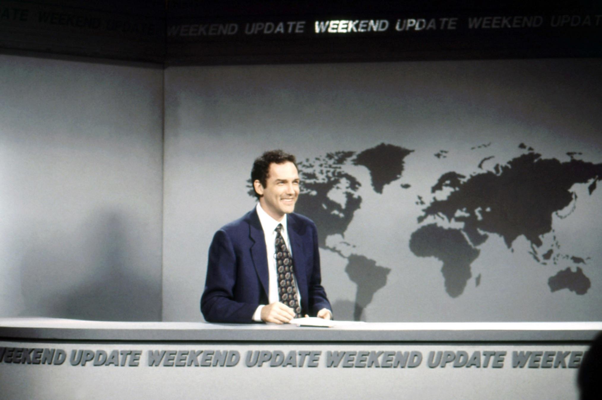 Saturday Night Live Weekend Update Norm Macdonald