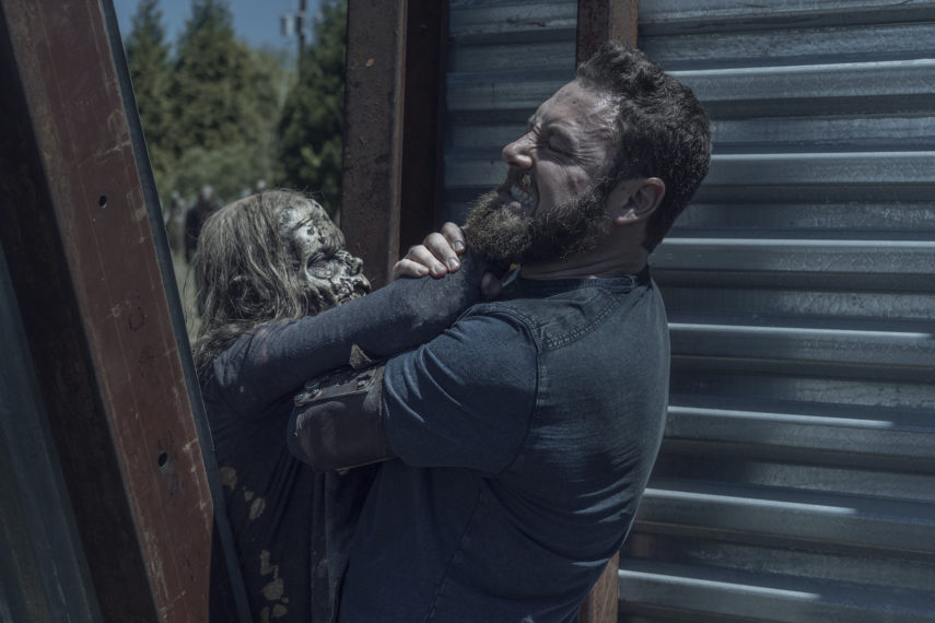 the walking dead season 11 episode 5 ross marquand aaron